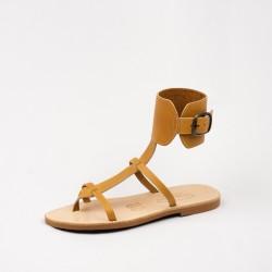 Sandales Alicia couleur naturel / Semelle Caoutchouc