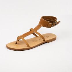 Sandale Olya en Couleur naturel / Semelle Caoutchouc